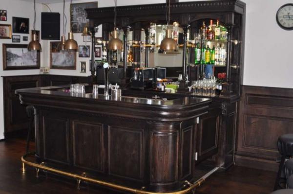 Noten kleur Engelse bar