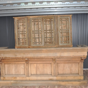 Antieke eiken bar