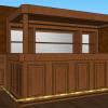 lambrisering en bar luifel 1