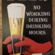 Bierbord Beer no working during drinking hours