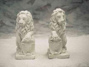 leeuw met schild
