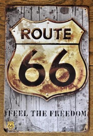 Bierbord Route 66