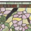 glaspaneel tiffany met rose bloemen 5832 detail