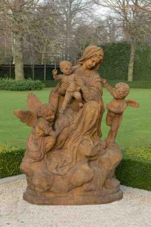 Maria met engelen