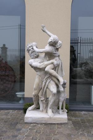 ontsnappende vrouw uit armen