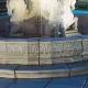 fonteinrand met blaadjesmotief