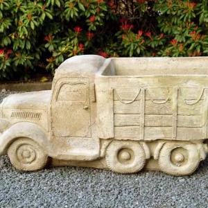 Vrachtwagen als pot