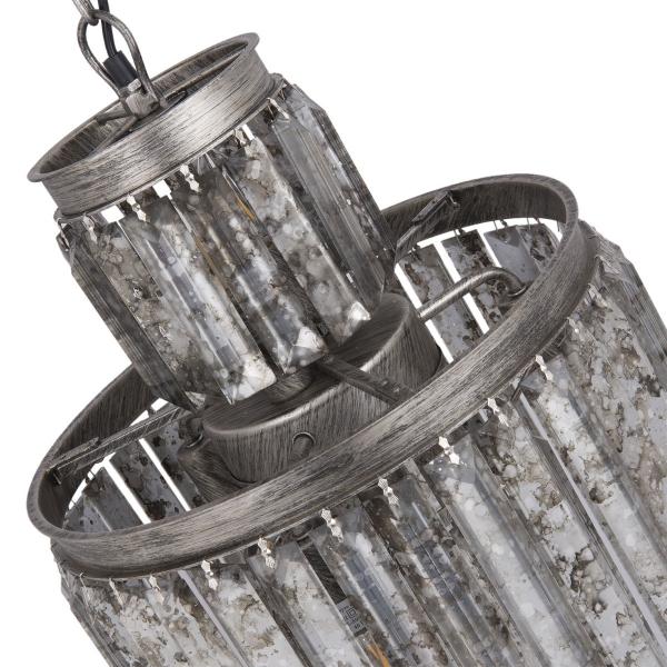Antieke zilveren Kroonluchter 5938