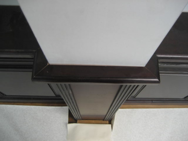 Detail lambrisering
