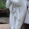 Baadster tuinbeeld vrouw B-035