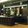Wengé bar op maat, aparte coffee corner