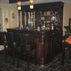 Engelse 200cm bar in grenen uitvoering