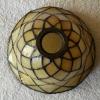 Glaskap Tiffany creme Filigrees/ Filigrain 1136