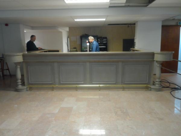 10 meter bar U-vorm