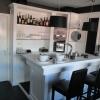 Moderne hoogglans bar Wit