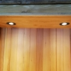 LED spots in achterkast