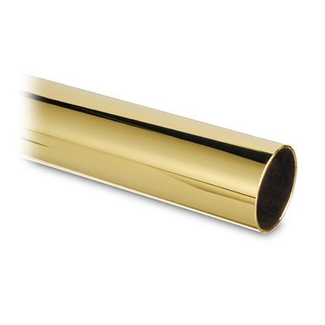Messing buis 50,8mm (Prijs per cm)