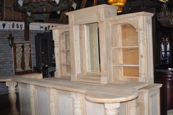 Bovenzijde achterkast New York bar