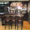 Bar met barkrukken