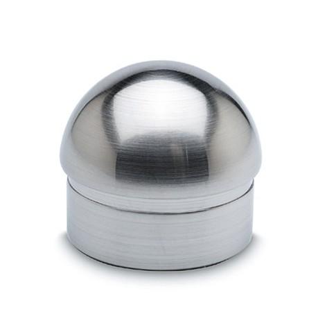 RVS ronde einddop 50,8mm