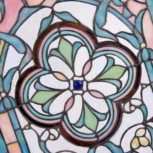 Tiffany glaspaneel voorzetraam raamscherm 5306