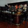 Engelse bar met messing buizen